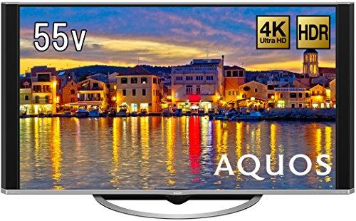 シャープ 55V型 4K対応液晶テレビ AQUOS LC-55UH5