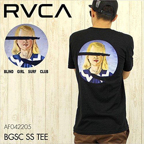 (ルーカ) RVCA Tシャツ BLIND GIRL SURF CLUB S/S TEE [AF042205 / AF042-205] メンズ S