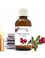 Wintergreen Oil(Gaultheria Procumbens) Essential Oil 100 ml or 3.38 Fl Oz by Blooming Alley