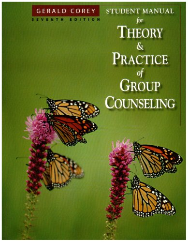 Download Theory and Practice of Group Counseling 0495115231
