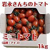 岩永さんちのとまと  ミニトマト(品種:アイコ) 1kg【産地直送】 [その他]