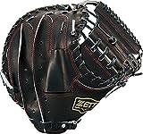 ZETT(ゼット) 軟式野球 ネオステイタス キャッチャーミット 新軟式ボール対応 ブラック(1900) 右投げ用 BRCB31912