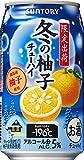 サントリー チューハイ -196℃ 冬の柚子 350ml×24本