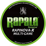 Rapala(ラパラ) ライン ラピノヴァX マルチゲーム 0.3号 7.2lb 150m ライムグリーン  RLX150M