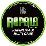Rapala(ラパラ) PEライン ラピノヴァX マルチゲーム 150m 1.2号 22.2lb ライムグリーン RLX150M12LG