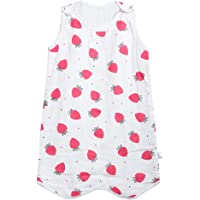 赤ちゃん スリーパー ベビー 寝袋 4重ガーゼ 綿100% 柔らかい 寝冷え防止 春 夏 秋 かわいい