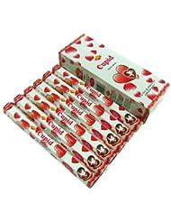 SANDESH SAC (サンデッシュ) キューピッド香 スティック CUPID 6箱セット