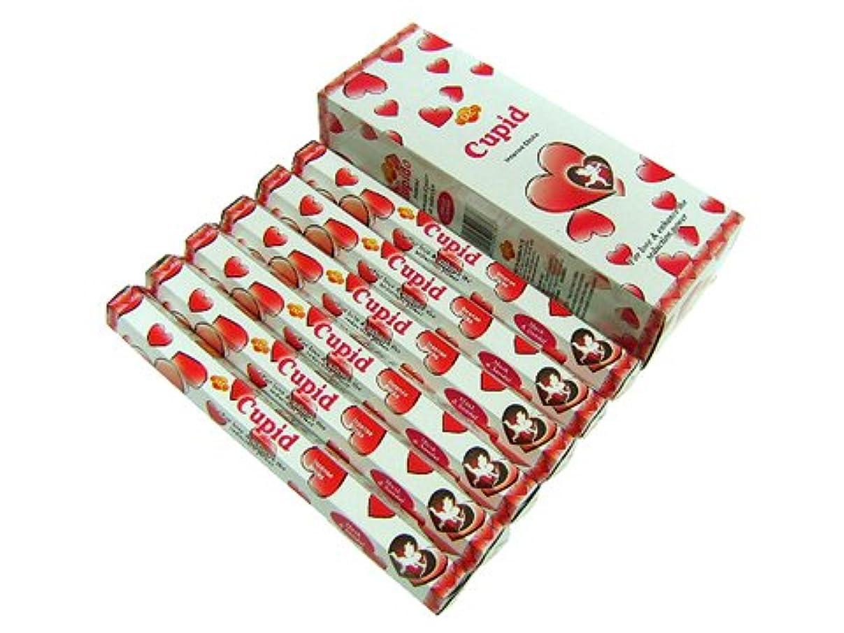 ビーズ応答浸漬SANDESH SAC (サンデッシュ) キューピッド香 スティック CUPID 6箱セット