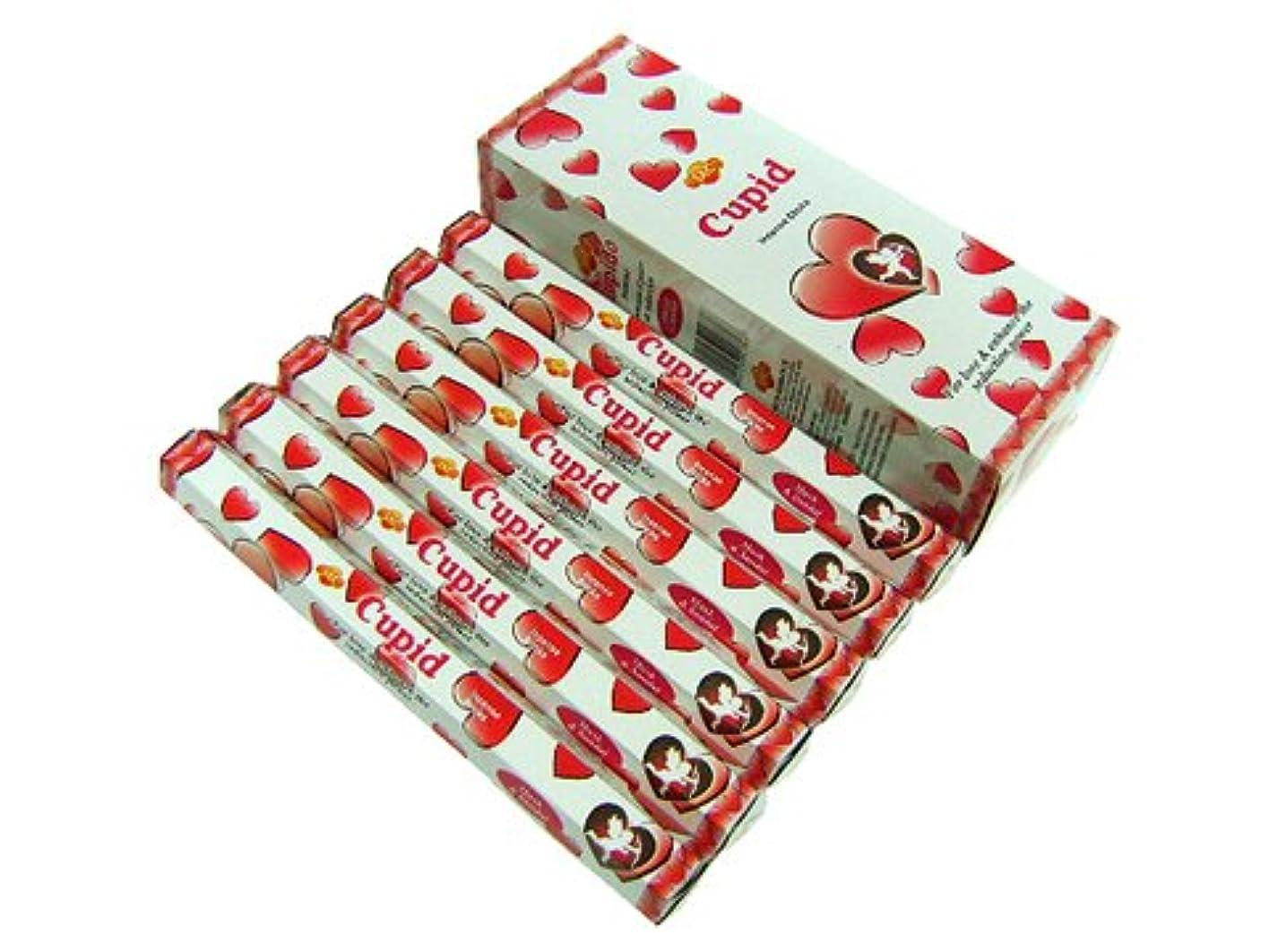 ボリューム無謀賞賛するSANDESH SAC (サンデッシュ) キューピッド香 スティック CUPID 6箱セット