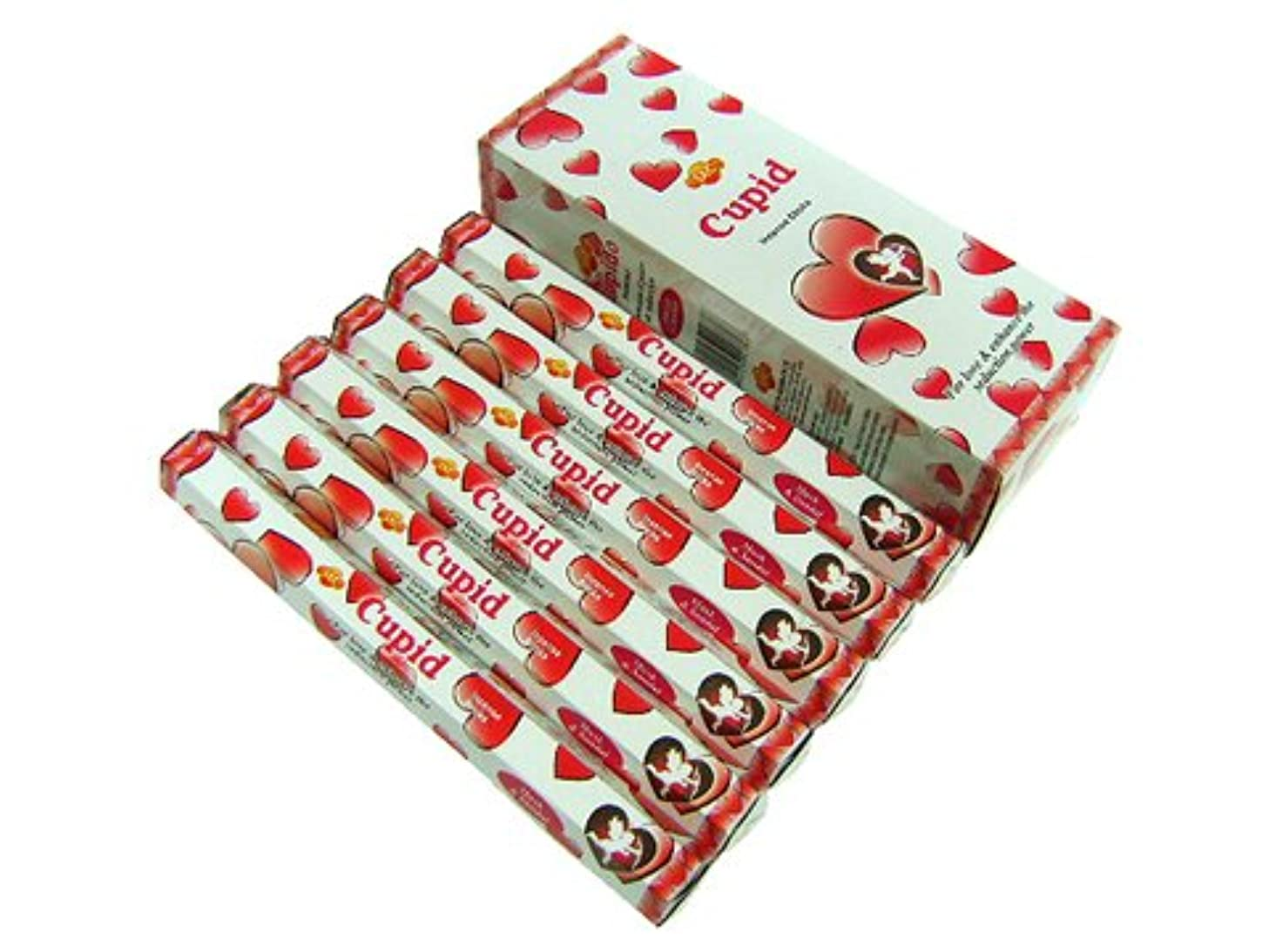 狐学校の先生牛肉SANDESH SAC (サンデッシュ) キューピッド香 スティック CUPID 6箱セット