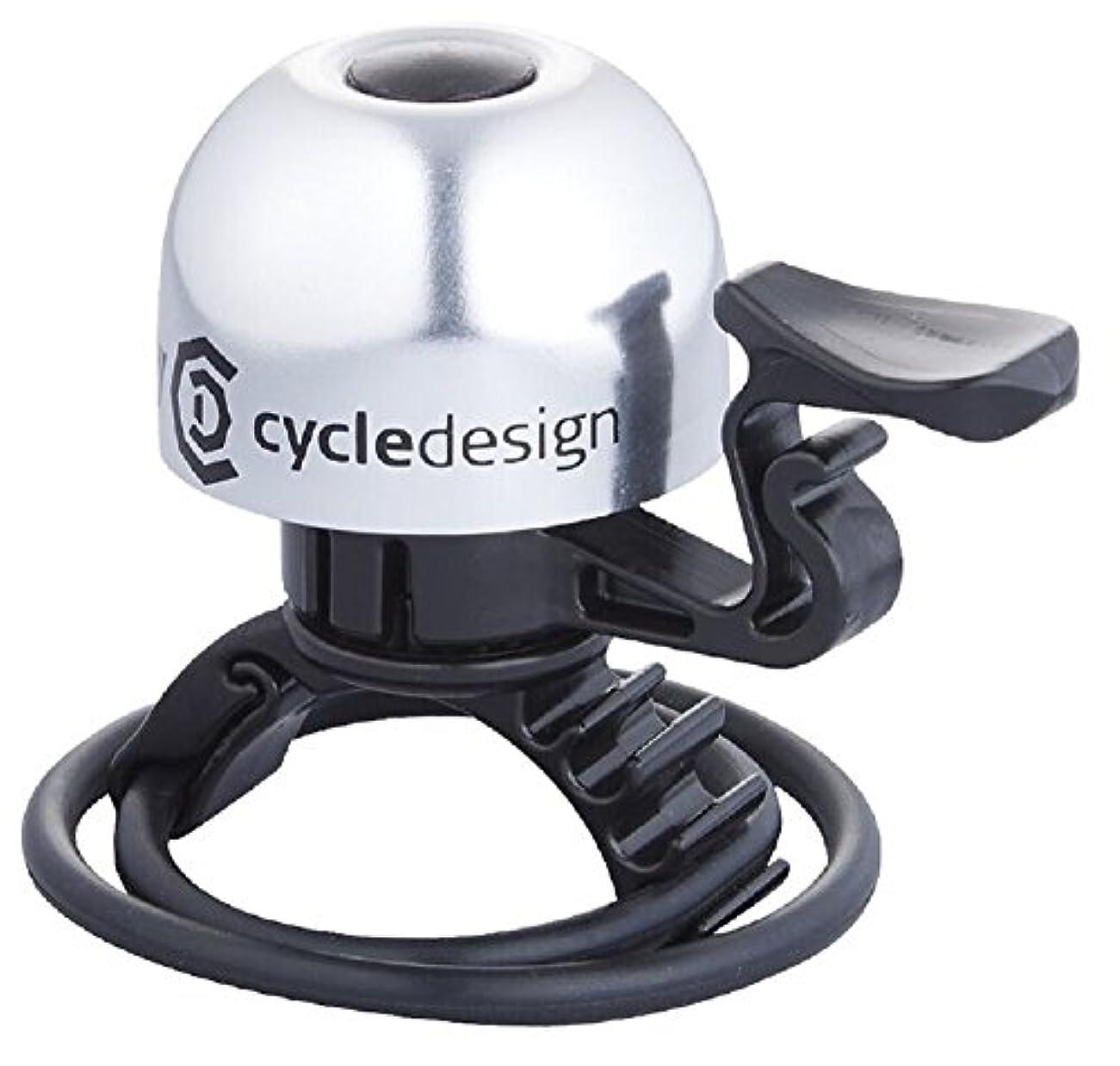 思いやりのあるかもめ洞察力のあるcycledesign(サイクルデザイン) ベル ベル 30MM 22.2-31.8MM アルミ シルバー 015150 015150