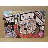 ラブホの上野さん 角コミとらのあな購入特典 ポストカード 博士 上野
