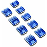 Andis 9-Piece Clipper Combs for Small Pets, Blue (12860)