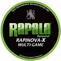 ラパラ(Rapala) PEライン ラピノヴァX マルチゲーム 150m 0.3号 7.2lb 4本 ライムグリーン RLX150M03LG