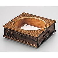 陶雅 韓国鍋 焼杉耐熱鍋用木台