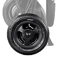 【作業不要の便利なセット】エアバギー 純正パーツ 8インチ後輪タイヤセット 左後輪 ブラック ※ココブレーキ・ココプレミア専用 AB0286