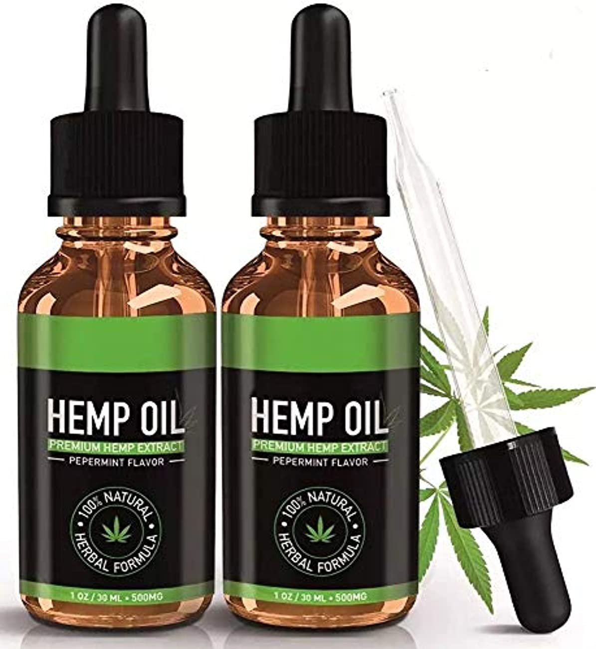 コミット頑固な抵抗HEMP OIL FOR PAIN RELIEF ヘンプオイル PEPPERMINT FLAVOR ORGANIC