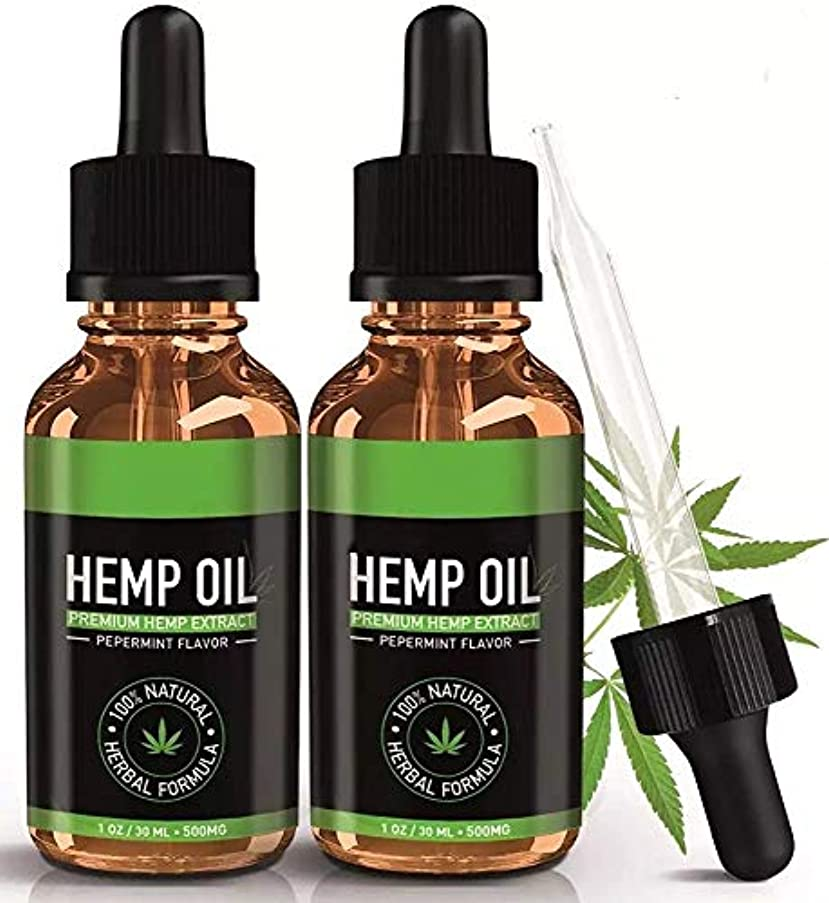 潜水艦下着債権者HEMP OIL FOR PAIN RELIEF ヘンプオイル PEPPERMINT FLAVOR ORGANIC
