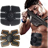 EMS Abdominal Muscle Trainer Stimulator Body Electric Pulse Treatment Slimming Massage Training Pads Fat Burner Gymnic Belt