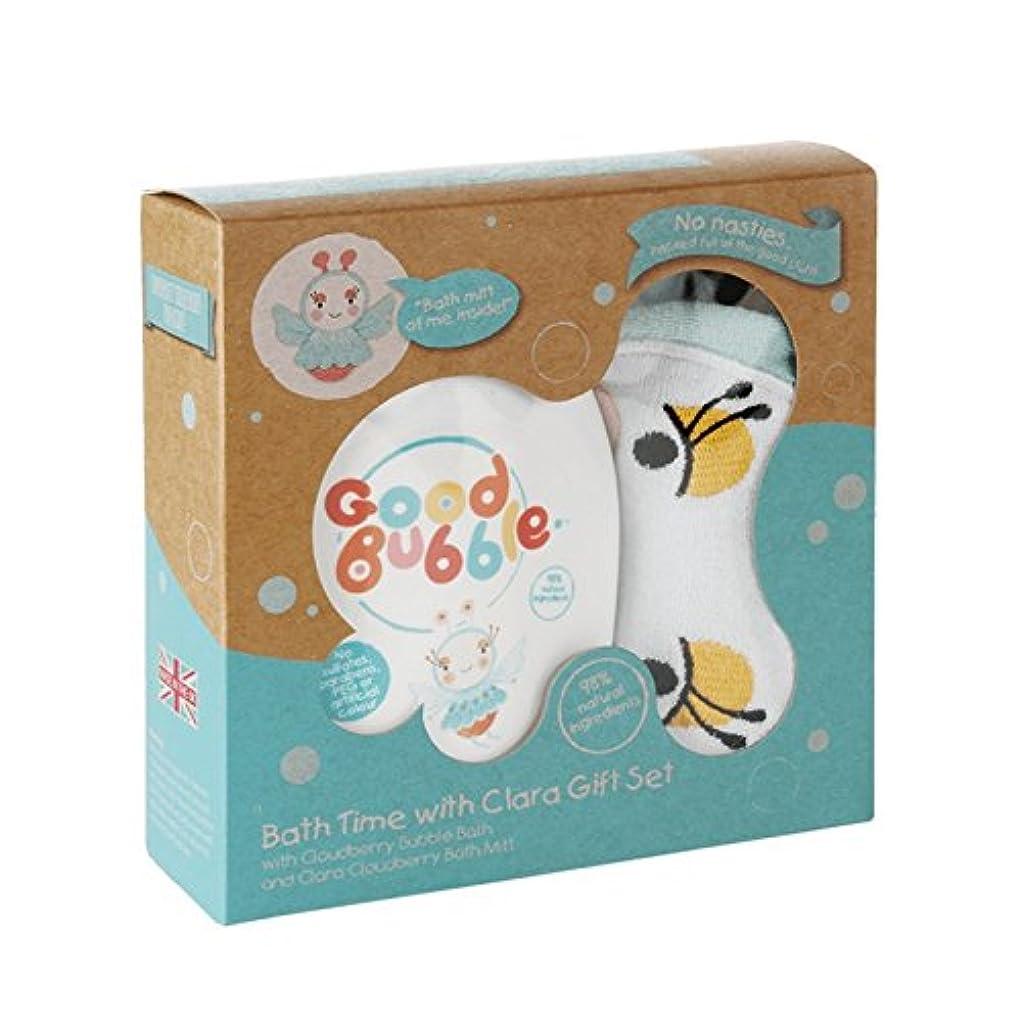 適合ピボットバイオレットGood Bubble Clara Cloudberry Gift Set 550g (Pack of 2) - 良いバブルクララクラウドベリーギフトセット550グラム (x2) [並行輸入品]