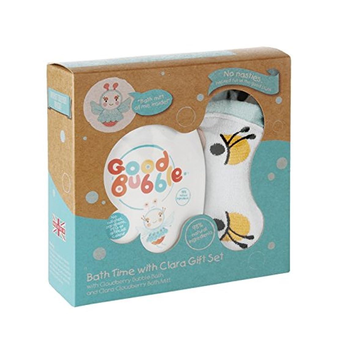 夏収縮自伝Good Bubble Clara Cloudberry Gift Set 550g (Pack of 6) - 良いバブルクララクラウドベリーギフトセット550グラム (x6) [並行輸入品]