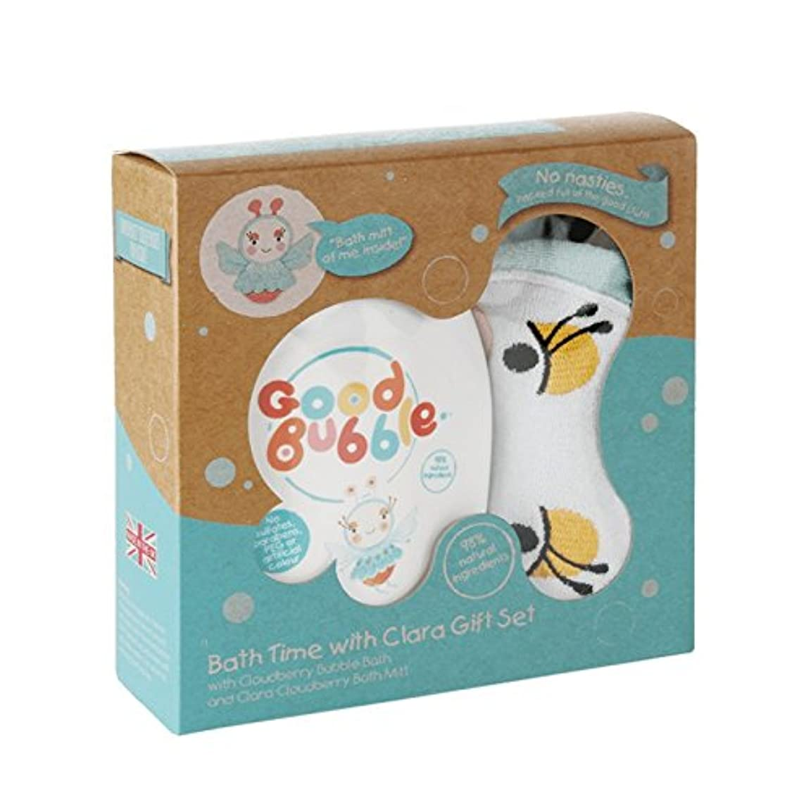 講義砲撃嘆くGood Bubble Clara Cloudberry Gift Set 550g (Pack of 2) - 良いバブルクララクラウドベリーギフトセット550グラム (x2) [並行輸入品]