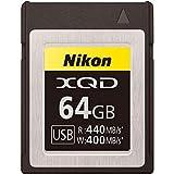 Nikon XQDメモリーカード 64GB MC-XQ64G 画像
