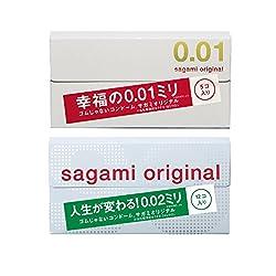 サガミオリジナル お試しセット ( サガミ001 5P + サガミ002 12P )