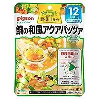 ピジョン 管理栄養士の食育ステップレシピ 野菜1食分 鯛の和風アクアパッツァ 100g 12ヶ月頃から×6個