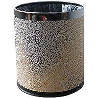 DUWEN ごみ箱ビンごみ箱2層プラスチック丸ごとキッチンビンごみ箱ビン巾のない耐磨耗ゴム製のラバーボトムゴミ箱40L / 10.5Gallon
