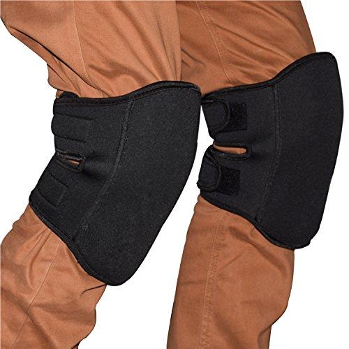 Yamay 膝当て(ひざあて) 膝パッド ニーパッド 膝プロテクター 作業用 2個入り ブラック
