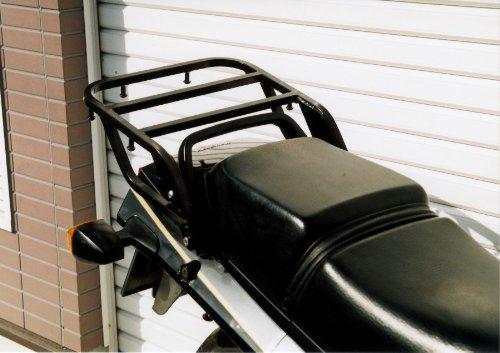 ライディングスポット(RIDING SPOT) リアキャリア スチール製 340×210mm ブラック GPZ900R NINJA[ニンジャ] GPZ750R NINJA[ニンジャ]