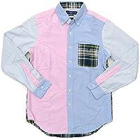 (ポロ ラルフローレン) Polo Ralph Lauren メンズ マルチカラー ギンガムチェック シャツ 356310001 長袖シャツ CLASIC FIT クラシックフィット アメカジ カジュアルシャツ [並行輸入品]