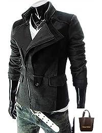 (アーバンセレクト) Urban Select コート メンズ ロング ブランド ビジネス トレンチ ロングコート 大きいサイズ AI-948(エコバッグセット)