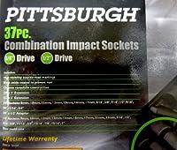 Pittsburgh 37 Pc. Combination Impact Sockets [並行輸入品]