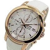 セイコー プルミエ クロノ クオーツ レディース 腕時計 SNDV66P1 ホワイトシェル [並行輸入品]