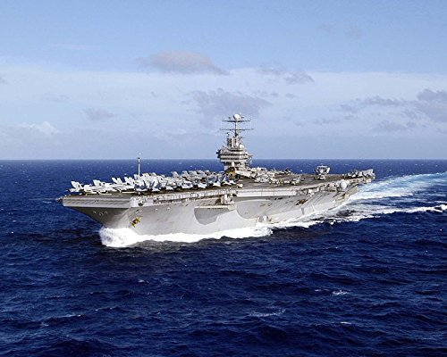 USS Abraham Lincoln Sailing In The Western Pacific 8