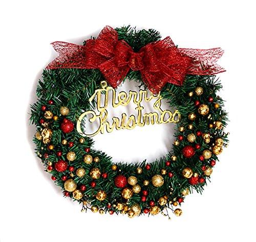 【ANION】クリスマスリース 玄関リース 北欧風 クリスマ...