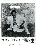 1986 Press Photo Billy Ocean - cvp87865