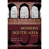 Oxford University Press Modern South Asia: History, Culture, Political Economy [Paperback] [Apr 11, 2014] Sugata Bose,Ayesha