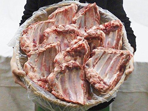 """国産""""豚スペアリブ ブロック"""" 約5kg 原体(冷凍便)"""