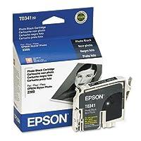 Epson t034120t034120インク、628page-yield、フォトブラック