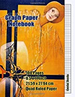 Graph Paper Notebook: (18) Quad Ruled, Grid Paper, 100 Pages (Large, 8.5 x 11)