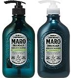 【2本セット】MARO(マーロ) 薬用 デオスカルプ シャンプー 480ml トリートメント 480ml 本体セット