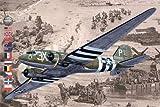 ローデン 1/144 アメリカ空軍 C-47 イギリス空軍 DC3ダコタ現存機 D-DAY戦勝記念モデル プラモデル (メーカー初回受注限定生産) 014T300