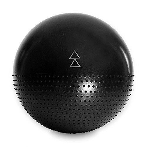 Yoga Design Lab (ヨガデザインラボ) ヨガボール バランスボール 65cm ポンプ付き (Night)