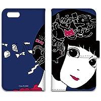hare. iPhone6s ケース 手帳型 プリント手帳 うさぎB (hr-017) カード収納 スタンド機能 WN-LC050926-ML