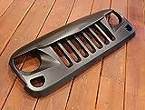 MARVIN (マーヴィン) アングリーグリル Bタイプ ブラック ABS製 2007y- JEEP JKラングラー