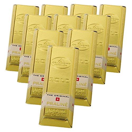 ゴールドケン ミニゴールドバー チョコレート 10箱セット