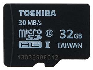 東芝 UHS-I 対応 Class10 microSDHCメモリカード 32GB MU-B032GX